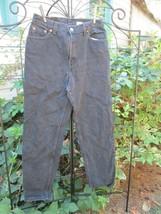 Levi's 550 Classic Relaxed Black Jeans Women's Size 12 reg M - $19.79