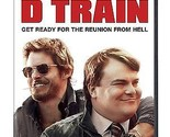 THE D TRAIN DVD - SINGLE DISC EDITION - NEW UNOPENED - JACK BLACK