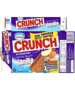 nestle crunch ice cream box baseball card sammy sosa chicago cubs rare s... - $39.99