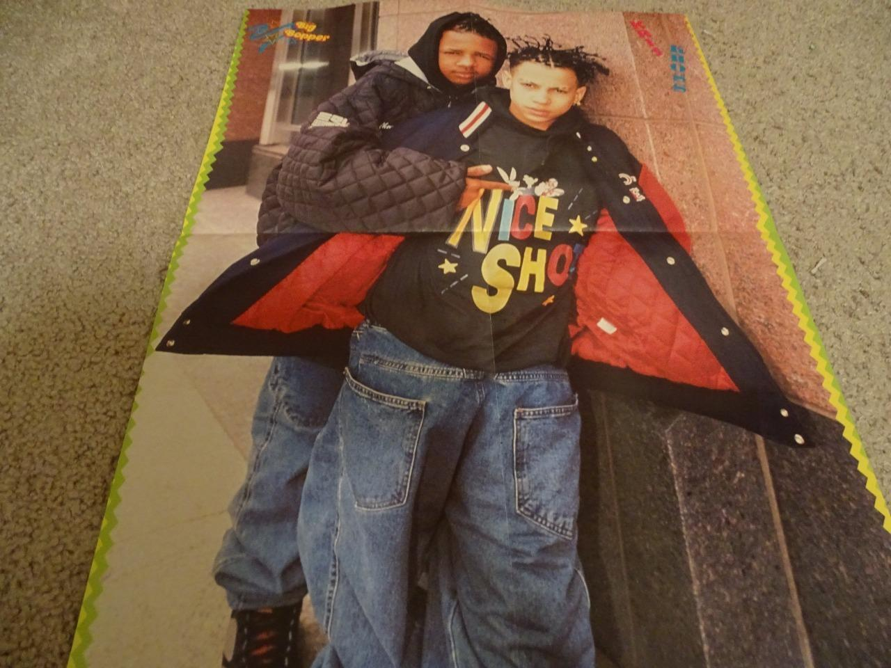 Kris Kross Edward Furlong teen magazine poster clipping Tiger Beat Rockline