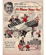 Kleenex Arthur Godfrey Little Lulu 1953 Antique Home Vintage Antique Adv... - $1.50