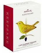 Hallmark Lady Summer Tanager Limited Edition Beauty of Birds  Keepsake O... - $26.60