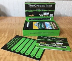 The Oregon Trail Card Game COMPLETE   Based On The Classic Computer Game! - $15.00
