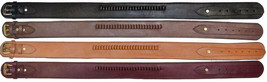 "Western Genuine Leather 22 cal Cartridge Belt Natural 2-1/2"" Wide Gun S... - $49.49"