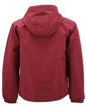 Red Label Men's Lightweight Nylon Hooded Water Resistant Zip Up Rain Jacket image 6
