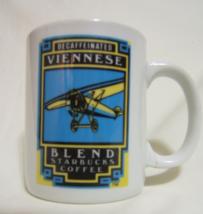 Vintage Starbucks Decaffeinated Viennese Blend Coffee Mug 8 oz - $17.95