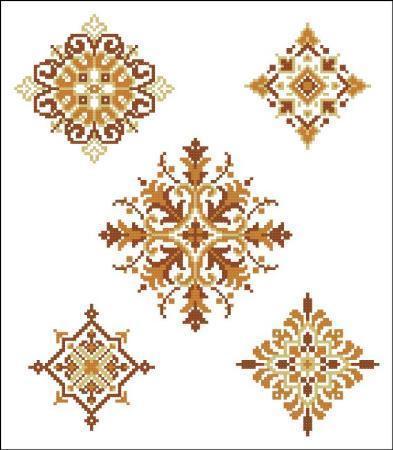 Geometric medallions autumn 4207