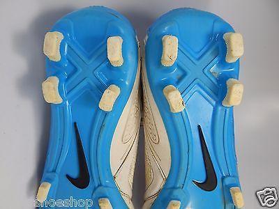 Nike CTR360 Libretto II FG Men's Soccer Cleats Size US 7 M (D) EU 40 White Blue