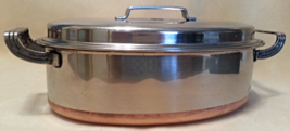 EkcoWare Stainless Steel with Copper Bottom Oval Dutch Oven - $34.95