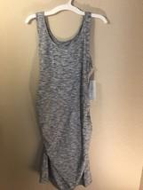 Liz Lange Maternity Tank Bodycon Ruched Dress XS S M L Extra Large XXL NWT - $9.99