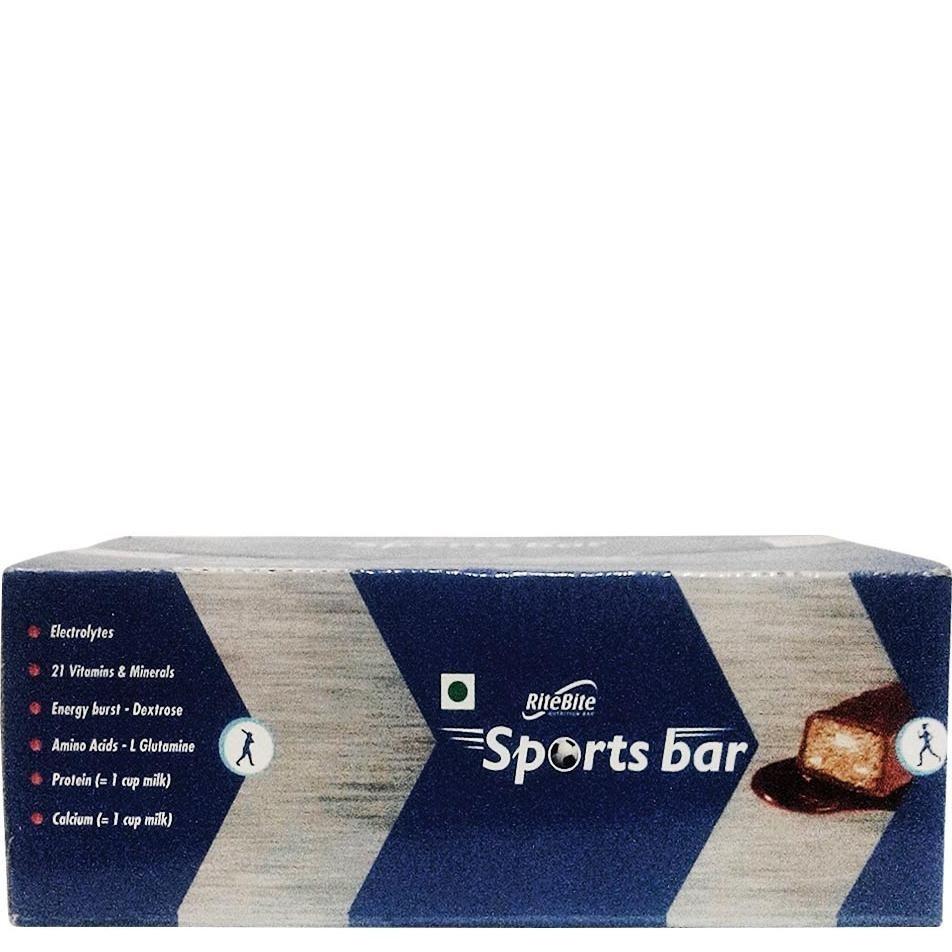 RiteBite Sports Bars, 24 bar(s) Chocolate image 2