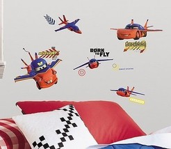 Walt Disney's Cars Air Mater Peel and Stick Wall Stickers Appliques, NEW... - $9.74