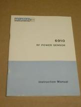 Marrconi Instruments RF Power Sensor 6910 Instruction Manual - $29.35