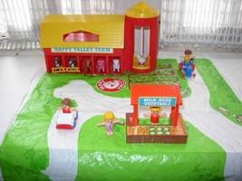 Vintage, Rare, 1970s Arco, Miniature 17-pc Happy Valley Farm Set - $28.45