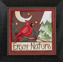 Enjoy Nature 2015 Sticks Everyday Series cross stitch kit Mill Hi - $16.20