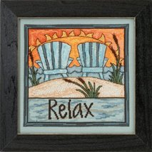 Relax 2015 Sticks Everyday Series cross stitch kit Mill Hi - $16.20