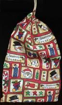 Christmas Cotton Drawstring Gift Bag - $4.00