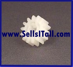 Brand New HP RS6-0441 15T Upper Delivery Gear for HP 2100 Printer - $12.95