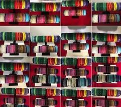 50 PC Wholesale NEPALI Rolls on Beads COLORFUL Bracelet bangels Mix colo... - $116.88