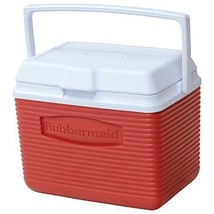 NEW Red 10-Quart Personal Ice Chest Cooler - Top Handle - Thermal Retention - $27.25