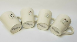 Williams-Sonoma A Merry Group of Snowmen Coffee Mugs Cups (4) - £24.73 GBP