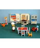 Vintage Playmobil #5322 Victorian Kitchen 100% Complete/NEAR MINT (A) (r... - $70.00