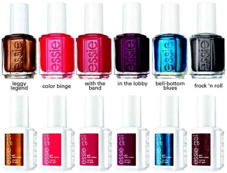 Essie Nail Gel Polish Fall 2015 Collection and similar items