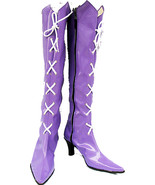 Cosplay Boots Shoes for Sailor Moon Saturn cosplay costume - $65.00