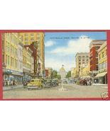 Raleigh NC Postcard Cars Fayetteville St Linen BJs - $6.00