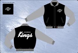 Los Angeles Kings Adult Wool Two Tone Reversible Jacket   - $109.95