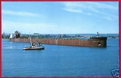 FREIGHTER James R Barker Great Lakes Ship Interlake