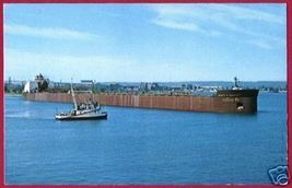 FREIGHTER James R Barker Great Lakes Ship Interlake - $6.00