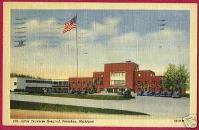 PETOSKEY MICHIGAN Little Traverse Hospital Northern MI