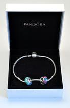 Womens Pandora Sterling Silver Bracelet & Beads - $189.99