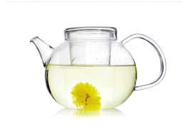 Handmade Gift Glass Teapot with Infuser and Lid 600ml / 20oz - Grace Unihom - $29.50