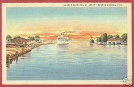 Benton Harbor St Joseph MI Postcard Ship 1946 Linen BJs - $6.00