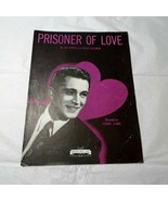 Vintage Prisoner of Love by Perry Como Piano Sheet Music  - $4.94