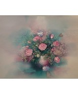 """An Eve Turner's """"Flowers in Vase"""" Painting  13 x 17 - $50.00"""