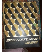 Signature Yearbook -1962 - Uniondale High School - Uniondale, NY - $18.95