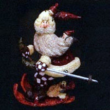 "Boyds Carvers Choice Ornament""Santa..In the Nick of Time"" #370200-1E-NIB... - $10.99"