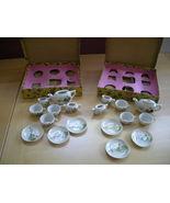 Toy tea set - ceramic - $30.00