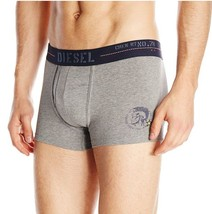 "Diesel Men's Semaji Contrast Waistband Gray Boxer Brief ""X-Large"" - $21.77"