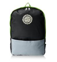 American Freshman Oakland Rucksack Bag, Black/Green - $15.22 CAD