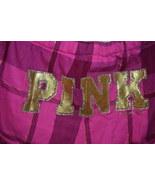 Victoria's Secret Pink Plaid Hot Pink Ruffled Ribbon Rhinestone Shorts S... - $6.00