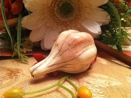 Ceramic Bulb of Garlic  for Harvest Display Centerpiece image 2