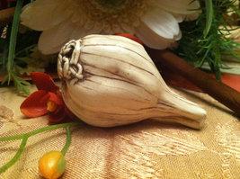 Ceramic Bulb of Garlic  for Harvest Display Centerpiece image 4
