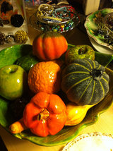 Ceramic Bulb of Garlic  for Harvest Display Centerpiece image 5