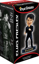 ELVIS PRESLEY– Black Leather '68 Comeback Special - Bobblehead image 2