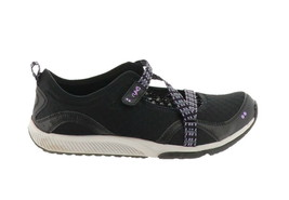 Ryka Adjustable Mesh Mary Jane Sneakers Kailee Black 10M NEW A287807 - $49.48