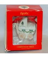 Spode Christmas Tree Baby's First Christmas Ornament - $10.89